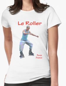Le Roller Womens Fitted T-Shirt