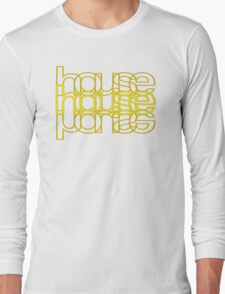 House Mirror Yellow Long Sleeve T-Shirt