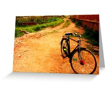 Cycle Greeting Card