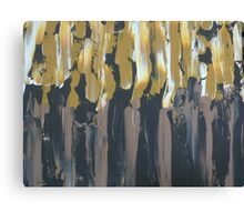Brown, Black, Gold Canvas Print