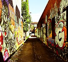 Graffiti Alley by Jason Dymock