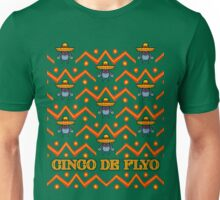 Cinco De Flyo Christmas Sweater Design Unisex T-Shirt