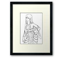 Elf Framed Print