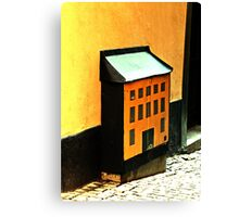 Electrical Box Canvas Print