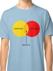 Venn Boobs! Classic T-Shirt