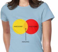 Venn Boobs! Womens Fitted T-Shirt