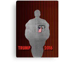 "Trump's ""Big, Fat, Beautiful, Open Door"". Canvas Print"