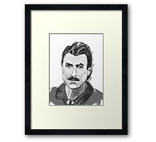 Like Tom Selleck Framed Print