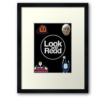 Look and Read Framed Print