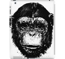 Chimp Sketch iPad Case/Skin