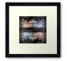 Sunset Watchers Framed Print