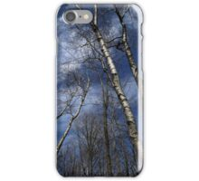Birches Leaning iPhone Case/Skin