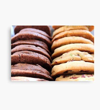 Cookie Delight Canvas Print