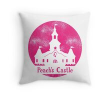 Princess Peach's Castle Super Mario 64 Throw Pillow