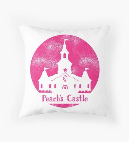 Princess Peach's Castle Super Mario 64 Throw Pillow