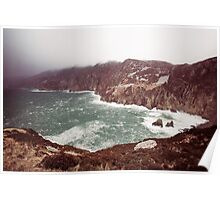Sliabh Liag in Winter Poster