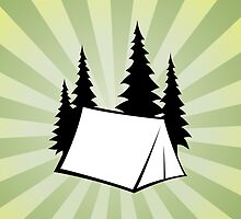 Camp Burst by LudlumDesign