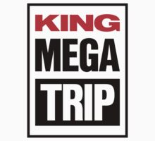 King Megatrip VSW logo (light shirt version) Kids Clothes