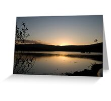 Dunmanus Bay Sunrise Sunset in Ireland 12 Greeting Card