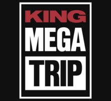 King Megatrip VSW logo (dark shirt version) Kids Clothes