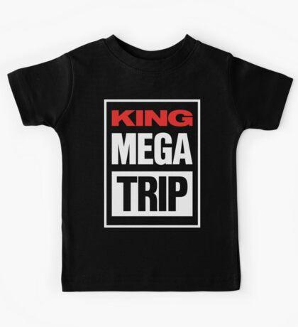 King Megatrip VSW logo (dark shirt version) Kids Clothes