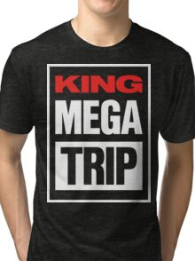 King Megatrip VSW logo (dark shirt version) Tri-blend T-Shirt