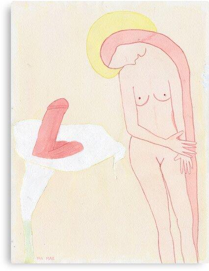 Mi pasado y otras mentiras (The Annunciation) by Ina Mar