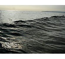 inky waves Photographic Print