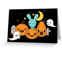 Kawaii Halloween Greeting Card