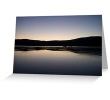 Dunmanus Bay Sunrise Sunset in Ireland 19 Greeting Card