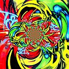 Twisted Graffiti # 8 by David Schroeder