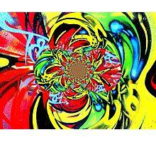 Twisted Graffiti # 8 Photographic Print