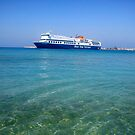 Greek ferry by impossiblesong