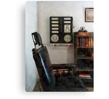 Eye Doctor's Office with Eye Chart Canvas Print