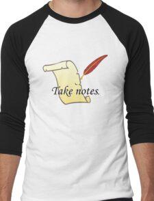 Take Notes Men's Baseball ¾ T-Shirt