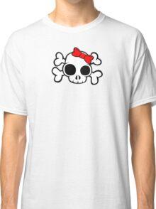 Skull & Crossbones Bow behind Classic T-Shirt