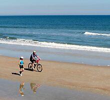 Fit But Fun - St. Augustine Beach by Eileen Brymer
