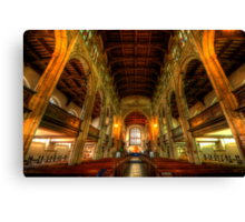 St Mary The Great - The Nave, Cambridge  Canvas Print