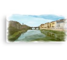 Arno Panorama Canvas Print