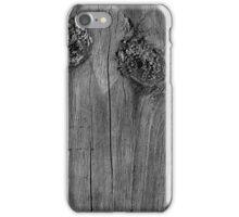 Sad Face BW iPhone Case/Skin