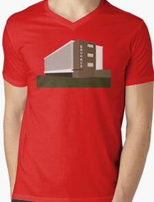 bauhaus Mens V-Neck T-Shirt