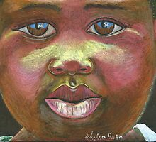 look Africa in the eyes by Elena Malec