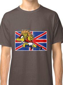 british lion rugby running ball Classic T-Shirt