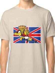 british lion rugby running ball Classic T-Shirt