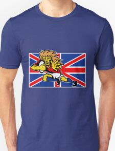 british lion rugby running ball Unisex T-Shirt