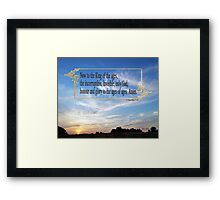 To the King Eternal ~ 1 Timothy 1:17 Framed Print