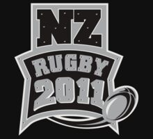Rugby Ball New Zealand 2011 by patrimonio