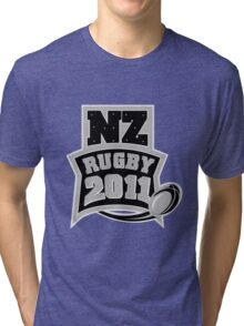Rugby Ball New Zealand 2011 Tri-blend T-Shirt