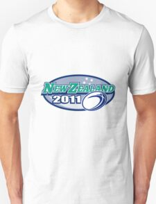 Rugby Ball New Zealand 2011 Unisex T-Shirt
