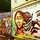 Graffiti Wall by Jason Dymock Photography